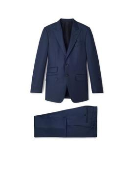 Sharkskin Wool O'connor Suit by Tom Ford