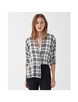 Willow Voile Plaid Button Up by Splendid
