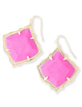 Kirsten Drop Earrings In Magenta by Kendra Scott