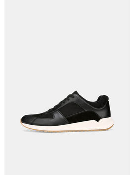 Griffin Leather Sneakers by Vince