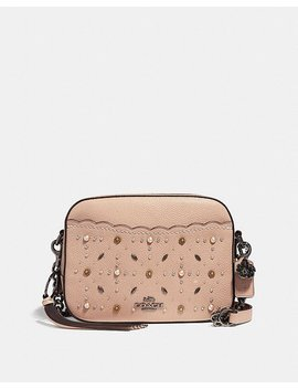 Camera Bag With Prairie Rivets by Coach