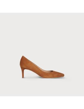 Elma Brown Suede Heel by L.K.Bennett
