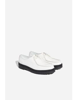 Bill Abrasivato Shoe White           Lafayette Waffle Knit Sweater   Black              Mike High Suede Sneaker   Seafoam Green              Idris Suede Loafer   Light Plum              Derek Pebbled Sneaker   White by Saturdays Nyc