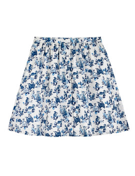 Badgers And Friends Cotton Skirt by Cath Kidston