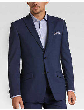 Tommy Hilfiger Blue Extra Short Slim Fit Suit by Mens Wearhouse