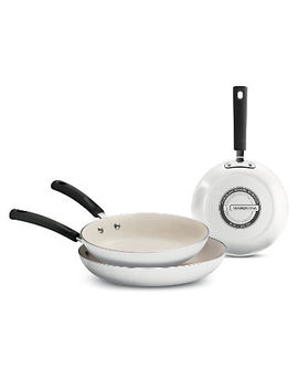 Tramontina Ceramic Reinforced Nonstick Fry Pans, Set Of 3 by Tramontina