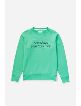 Bowery Miller Standard Embroidered Sweatshirt Seafoam Green           Ditch Chest Slash Embroidered Hoodie   Ash Heather              Gordy Wool Pant   Black              Saul Double Breasted Top Coat   Black              Mike Low Suede Sneaker   Ivory by Saturdays Nyc