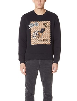 X Disney Applique Sweatshirt by Coach 1941
