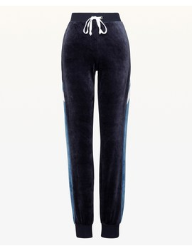 Juicy Emblem Lightweight Velour Zuma Pant by Juicy Couture