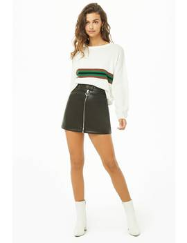 faux-leather-mini-skirt by forever-21