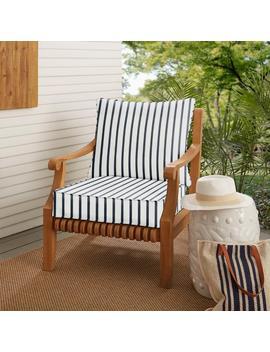 Mozaic Company Sunbrella Lido Indigo Indoor/ Outdoor Chair Cushion And Pillow Set Ospcset5408 Mozaic Company Sunbrella Lido Indigo Indoor/ Outdoor Chair Cushion And Pillow Set Ospcset5408 by Kmart