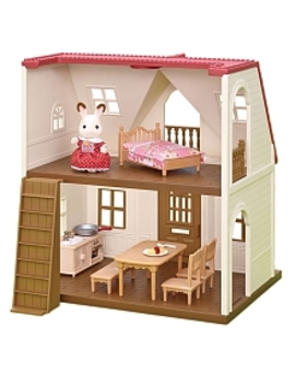 Calico Critters   Red Roof Cozy Cottage by Toys Rus