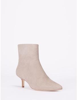 Faith Kitten Heel Ankle Boots by Halston