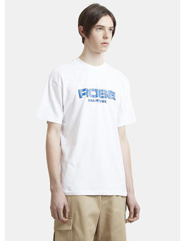 Logo T Shirt In White by Martine Rose