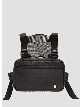 Chest Rig Crossbody Bag In Black by 1017 Alyx 9 Sm