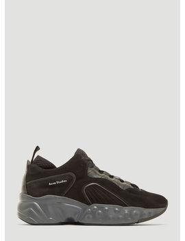 Rockaway Sneakers In Black by Acne Studios