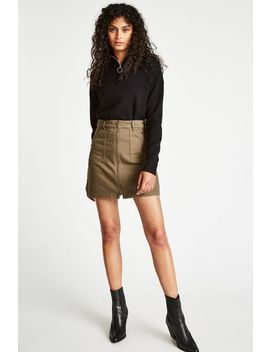 Chartham Zip Up Skirt by Jack Wills