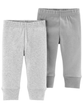 2 Pack Certified Organic Pants by Carter's