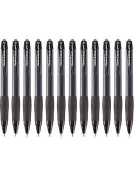 Paper Mate® Retractable Gel Pens, Medium Point, Black Ink, Dozen (1746324) by Paper Mate