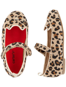 Carter's Cheetah Ballet Flats by Carter's
