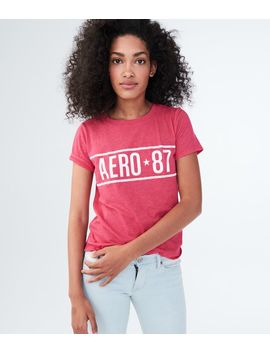 Aero 87 Relaxed Graphic Tee by Aeropostale