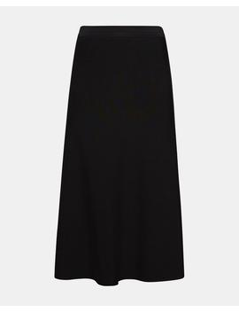 Long Flare Skirt by Theory