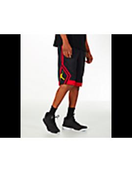 Men's Air Jordan Rise Diamond Basketball Shorts by Nike