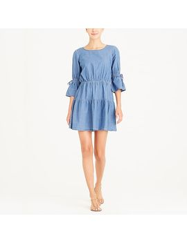 Tiered Chambray Dress by J.Crew