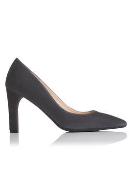 Tess Grey Suede Heel by L.K.Bennett