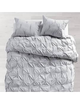 Light Grey Soft Loft Duvet Cover And Sham Set by Dormify