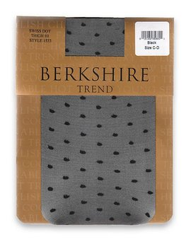 Swiss Dot Thigh Highs by Berkshire