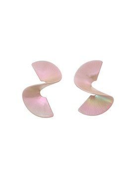 Holda Sculptural Twisted Form Drop Earrings by Olivar Bonas