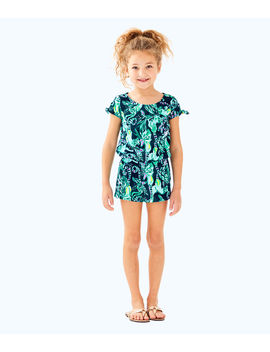 Girls Camryn Romper by Lilly Pulitzer