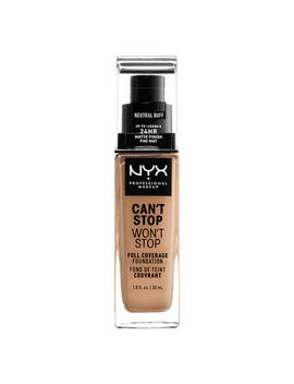 "Can't Stop Won't Stop Full Coverage Foundation              <Span Class=""Product.Sample.Minicart.Class.Variationdetails""></Span> by Nyx Cosmetics"
