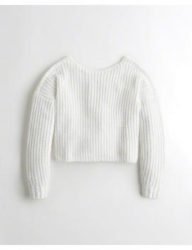 Slouchy Chenille Sweater by Hollister