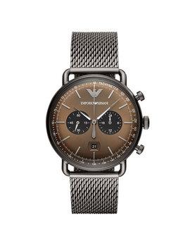 Emporio Armani Gts Mesh Chronograph Men's Watch by Beaverbrooks