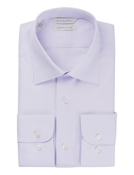 Lilac Plain Shirt by Suitsupply
