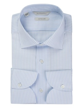 Light Blue Stripe Shirt by Suitsupply