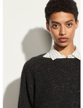 Cropped Boatneck by Vince