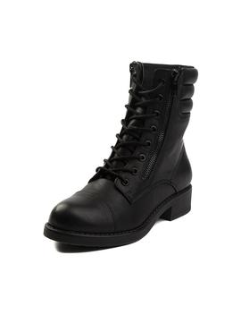 Womens Mia Maeva Combat Boot by Read Reviews