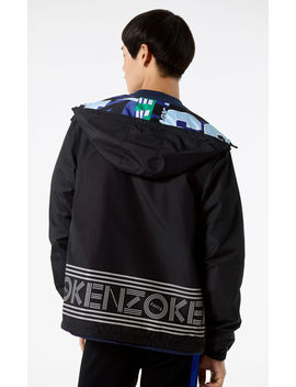 Reversible Windbreaker With Hood by Kenzo