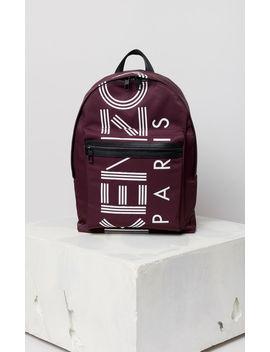 Large Kenzo Logo Backpack by Kenzo