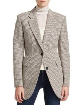 Super Cinch Wool Blend Blazer by Theory
