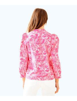 Goop X Lilly Pulitzer Paltrow Blouse by Lilly Pulitzer