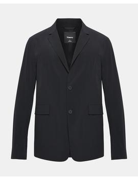 Paper Nylon Euclid Blazer by Theory