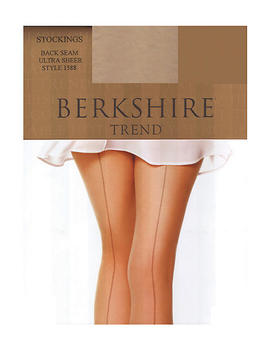 Trend Ultra Sheer Back Seam Stockings by Berkshire