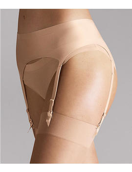 Satin Stocking Garter Belt by Wolford