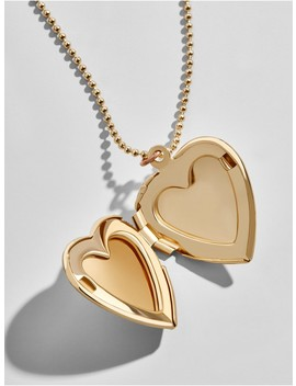 Amore Engravable Pendant Necklace by Baublebar