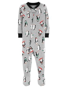 1 Piece Penguin Snug Fit Cotton P Js by Carter's