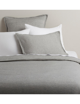 Belgian Flax Linen Duvet Cover &Amp; Shams by Rejuvenation